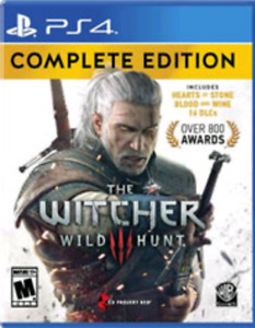 Witcher 3 Complete edition and shadow of war ps4