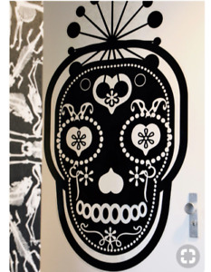 Ikea Sprutt Wall Art Sugar Skull