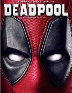 Deadpool blu-ray.  Brand new, unopened