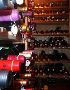 Supports pour bouteilles de vin