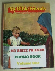 MBF-My Bible Friends.  Brand New (Promo Book)-True Bible Stories