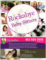 Rockabye BABYSITTER - In your home or child drop off service