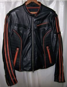 Ladies Harley Davidson Leather Mid-Weight Leather Jacket
