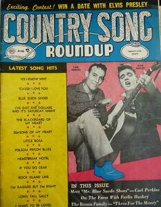 COUNTRY SONG ROUNDUP MAGAZINES