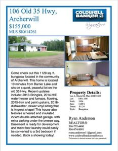 House for sale in Archerwill