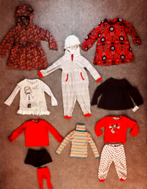 Girls clothes bundle aged 3-4 years