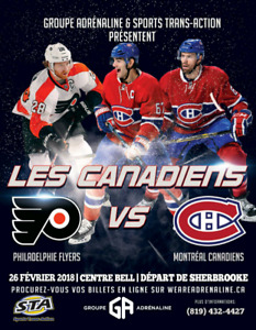 Billets du Canadiens / Transport inclus
