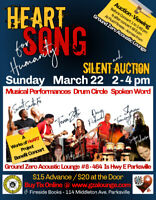 HEART SONG for Humanity - Benefit Concert & Silent Auction