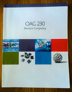 OAG 230 Business Computing Textbook Nelson