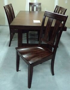 Contemporary Dining Set with 6 chairs
