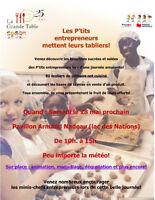 Animateur bénévole samedi 28 mai La Grande Table