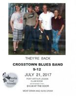 Br. 5 LEGION -- CROSSROADS BLUES BAND
