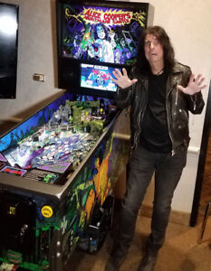 Alice Cooper Pinball - Order Now! At Canada's #1 Pinball Dealer!