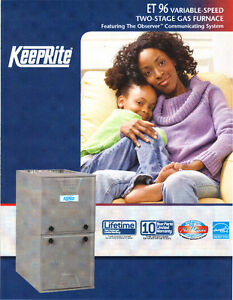 96% 2 STAGE VARIABLE HI EFF. GAS FURNACE STARTING $2,499 INSTALL London Ontario image 1