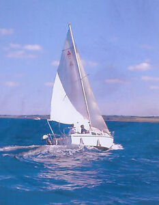 Catalina 22 Swing Keel Sailboat with Trailer