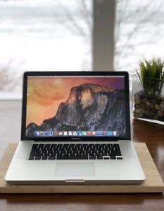 MacBook Pro (15-inch, 2011) (i7, 8GB, 500GB)