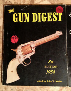 Gun Digest Catalog 8TH   Annual Edition 1954