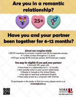 Seeking Couples to Participate in a Relationship Study