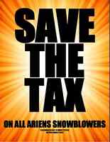Yard Gear is pleased to offer NO TAX on ALL Ariens Snowblowers!