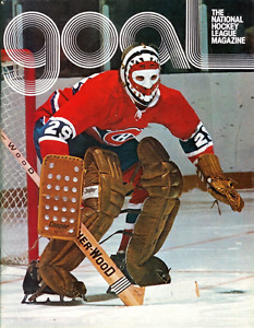 "1977 Goal "" The official hockey Magazine"" Mar27 77 game program"