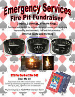 Emergency Service Fire Pit Fundraiser for Cancer
