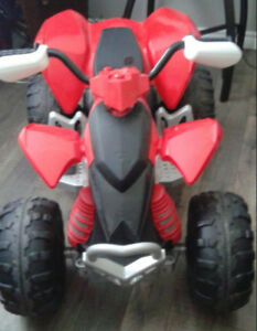 4 wheeler battery operated quad