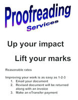 Proofreading Services - When it's important, you want it right