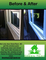 Window Cleaning By Green Team BC