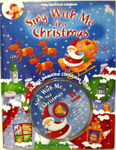 CHRISTMAS HOLIDAY SINGALONG BOOK & CD COLLECTION! Windsor Region Ontario image 2