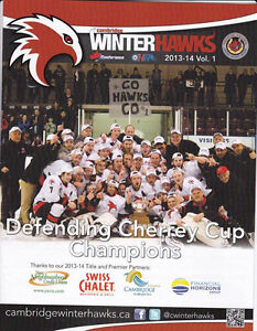 Looking to buy Cambridge Winter Hawks programs