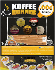 Keurig and compatible coffee pods- 66 ¢ Only !