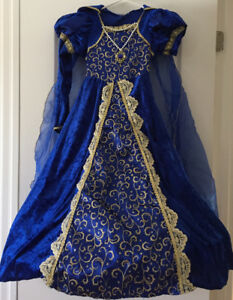 Robe princesse bleue gr 7/8 ans