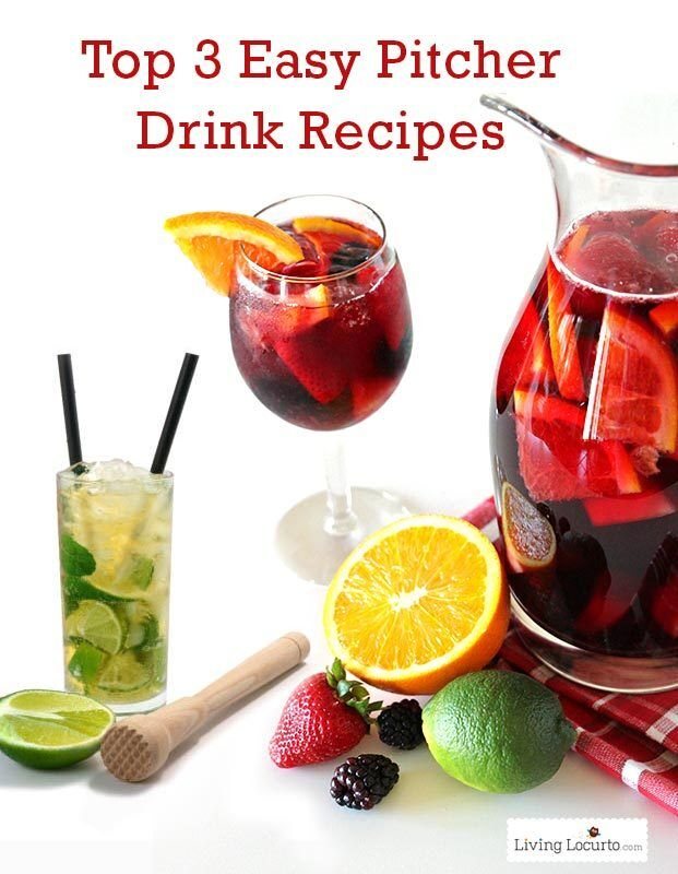 Top 3 Easy Pitcher Drink Recipes