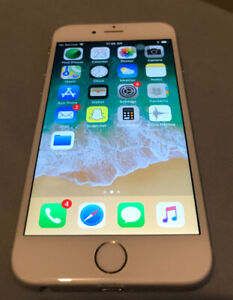 16gb IPhone 6S Silver On Rogers