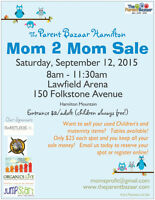 Students to help with Mom to Mom sale