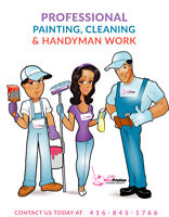 AFFORDABLE PROFESSIONAL PAINTING + CLEANING SERVICES ALL IN ONE