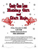 Candy Cane Lane Holiday Gift and Craft Expo