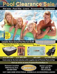 Pool, Hot Tub and Patio Sale