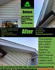 Window Cleaning - Pressure Washing - Gutter & Siding Scrubbing North Shore Greater Vancouver Area image 2