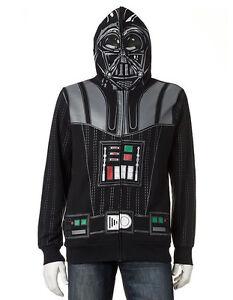 Darth Vader Full-Zip Mask Hoodie