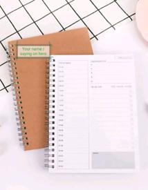 Note book organiser