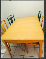 Ethan Allen dining table set