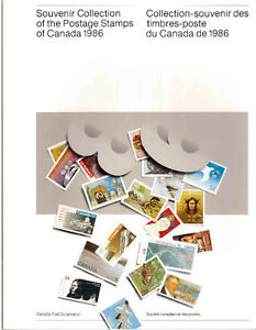 Collection Canada 1986 (timbres/stamps)