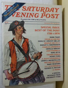 BICENTENNIAL 1976 JULY/AUGUST COPY OF THE SATURDAY EVENING POST
