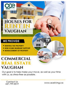 Houses For Rent in Vaughan | Commercial Real Estate Vaughan