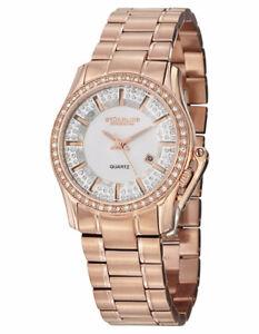 New Stuhrling Original Women's Quartz Rose Gold Watch