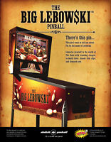 The Big Lebowski Pinball, Alien & Full Throttle - ONLY AT NITRO!