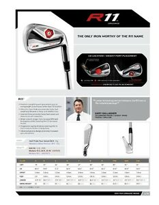 Taylormade R11 Irons - RH