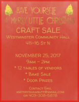 Merry Little Christmas Craft Sale