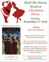 Christmas Dance Party by Shall We Dance Studio Windsor
